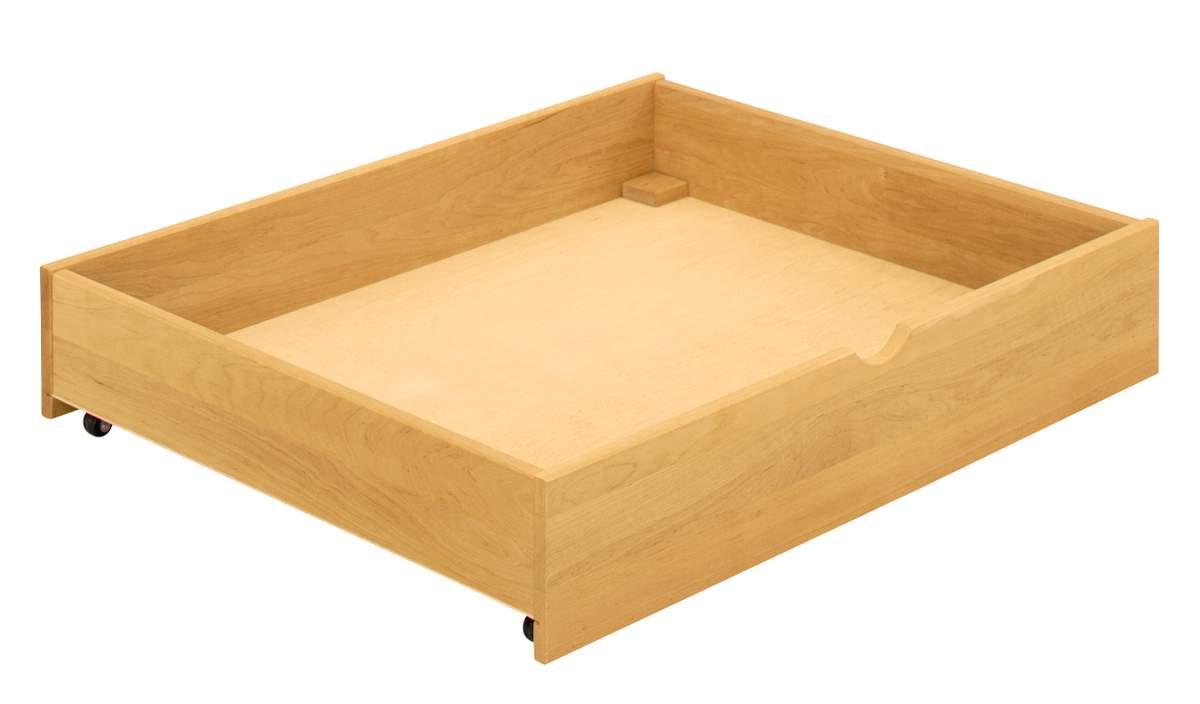 Artikelbild: Bettkasten Schublade mit Rollen 100x80x18,5 cm Erle