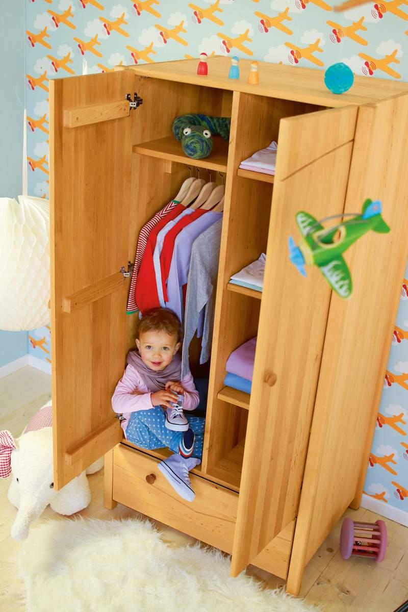 Artikelbild: Luca Kinder-Kleiderschrank Erle