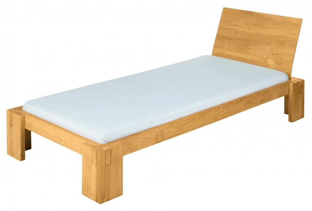 biokinder dario bett 90x200 cm erle. Black Bedroom Furniture Sets. Home Design Ideas