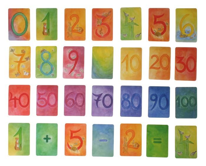 Artikelbild: Zahlenreihe Kartenspiel, 48 Blatt Grimm's