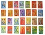 Alphabet Karten Großbuchstaben 48 Blatt Grimm's – Bild 4