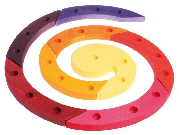 Artikelbild: Geburtstagsspirale rot aus Lindenholz, Grimm's