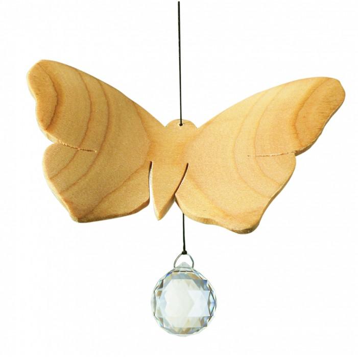 Artikelbild: Fensterschmuck Schmetterling aus Birnbaumholz, Sternengasse