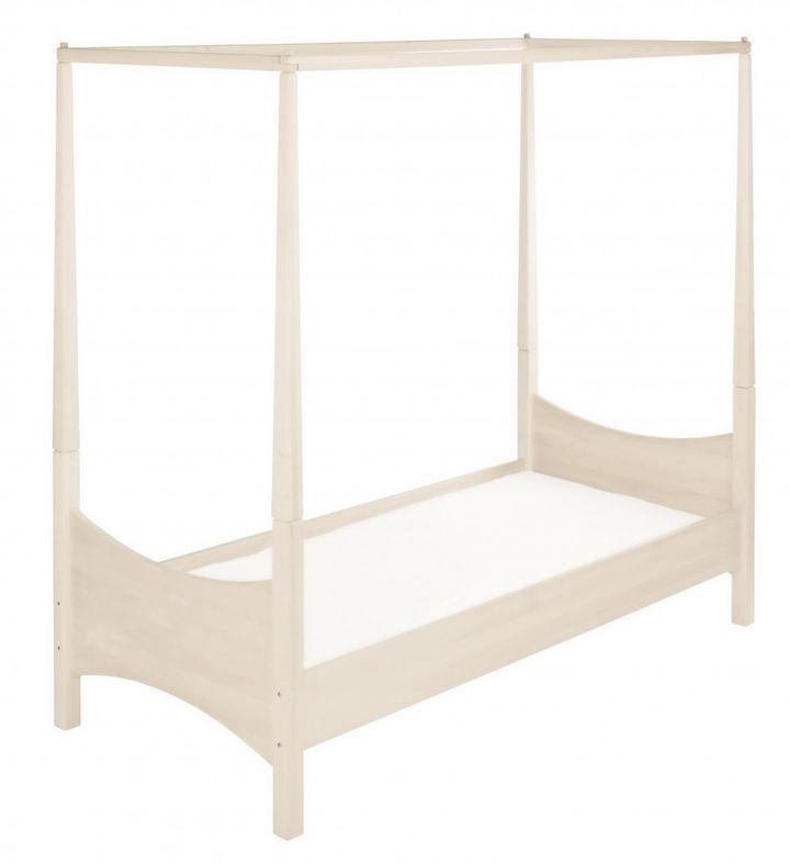 biokinder komplett set noah himmelbett 90x200 cm kiefer. Black Bedroom Furniture Sets. Home Design Ideas