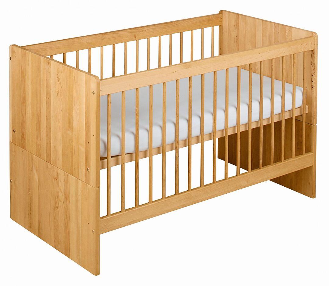 biokinder spar set lina babybett mit bettkasten 70x140. Black Bedroom Furniture Sets. Home Design Ideas