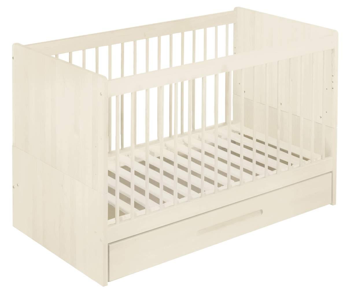 Artikelbild: Spar-Set: Lina Babybett mit Bettkasten 70x140 cm