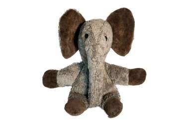 12c24b0ce58cef Kuschel-Elefant aus Bio-Baumwolle
