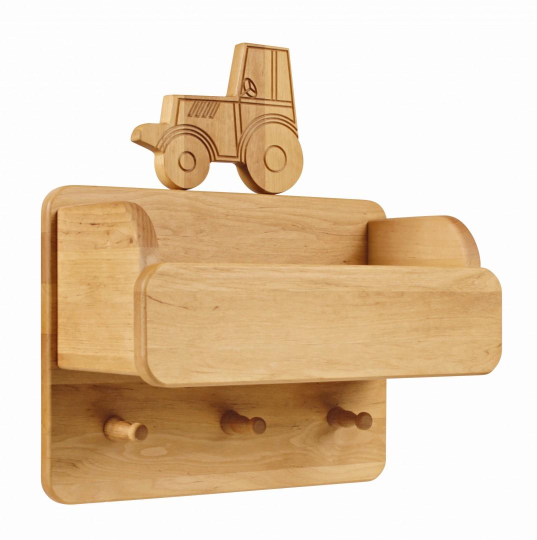Artikelbild: Laura Garderobe mit Ordnungsfach und Traktor