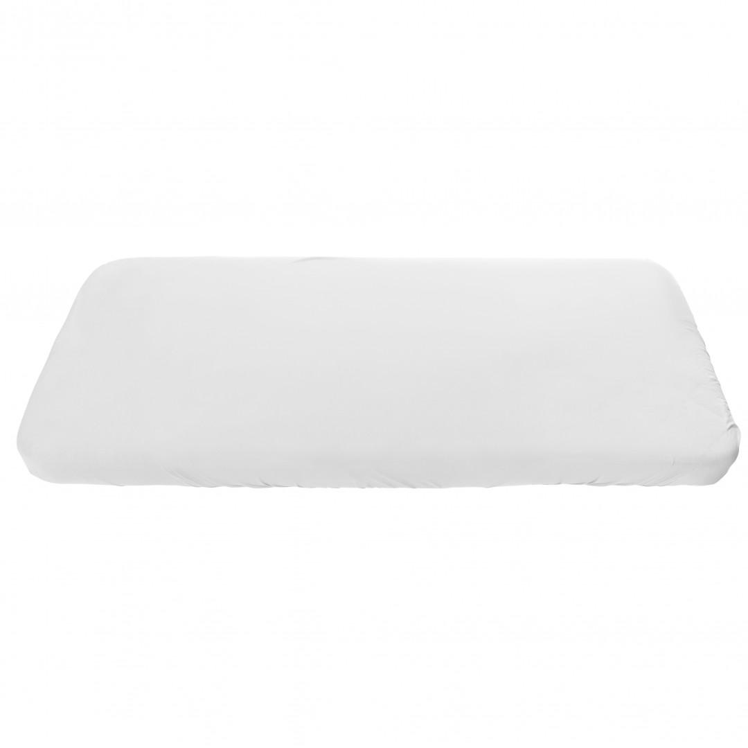 Artikelbild: Spannbettlaken 70 x 140 cm Bio-Baumwolle weiß