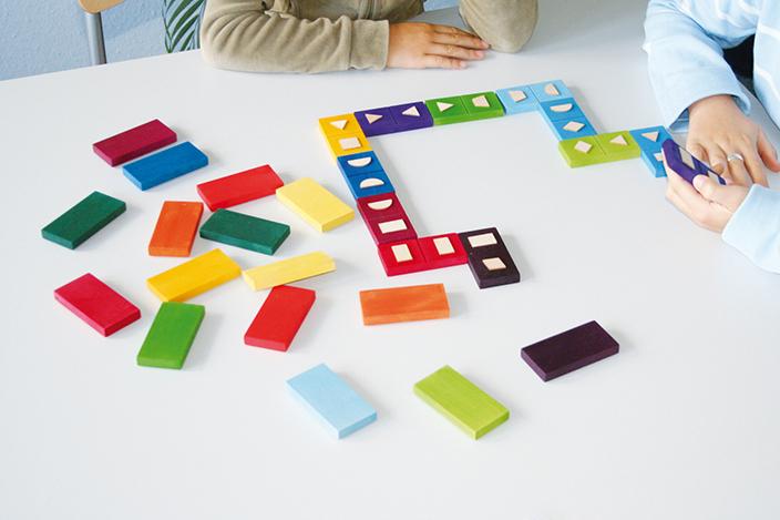 Artikelbild: Domino geometrische Formen, Grimm's