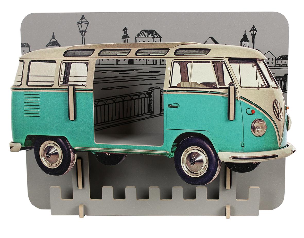Artikelbild: Garderobe VW Bus türkis, Werkhaus