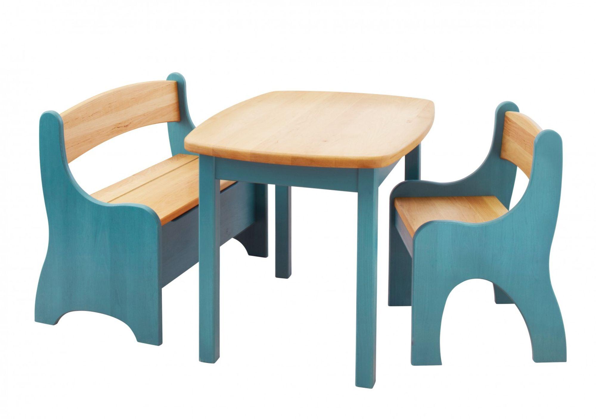 Spar Set Levin Kindersitzgruppe Komplett Tisch Bank Stuhl
