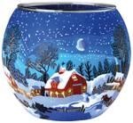 Leuchtglas Winterliches Kanada, Kerzenfarm Hahn