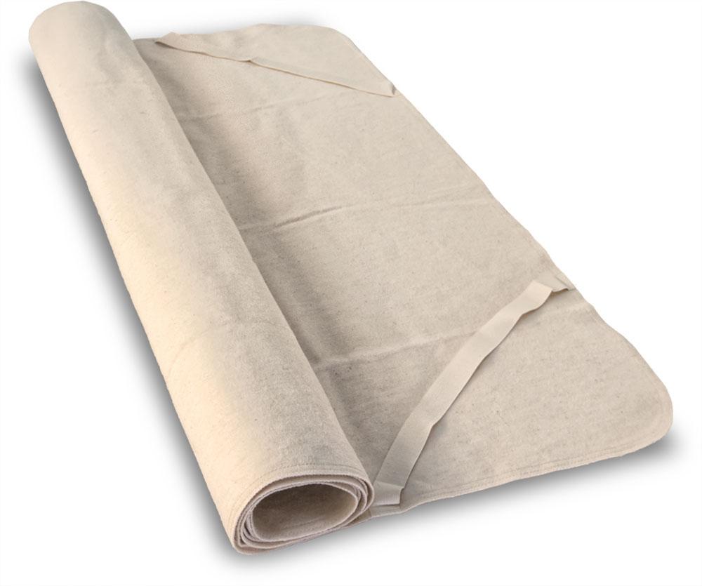Artikelbild: Moltonauflage aus Bio-Baumwolle, Baumberger