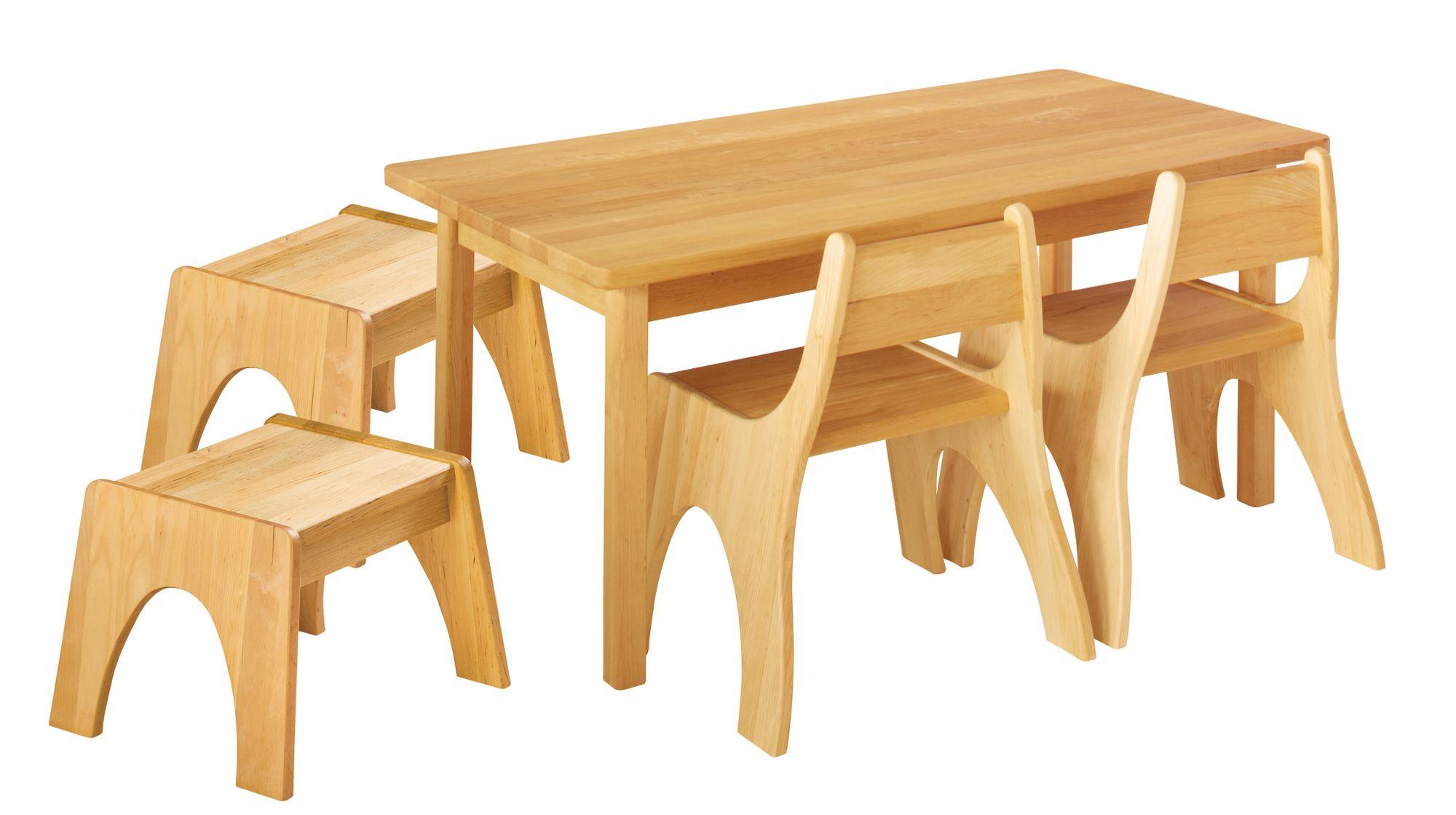 120x70 Zu Stühle Cm Biokinder Sitzgruppe Kindersitzgruppe 2 Hocker 25300 Details Tisch pMGqUzSV