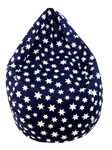 Sitzsack Sterne Baumwolle 240l, Joyfill – Bild 5