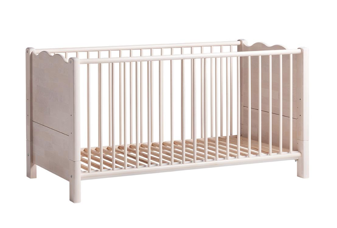 biokinder feli babybett mit bionik matratze. Black Bedroom Furniture Sets. Home Design Ideas