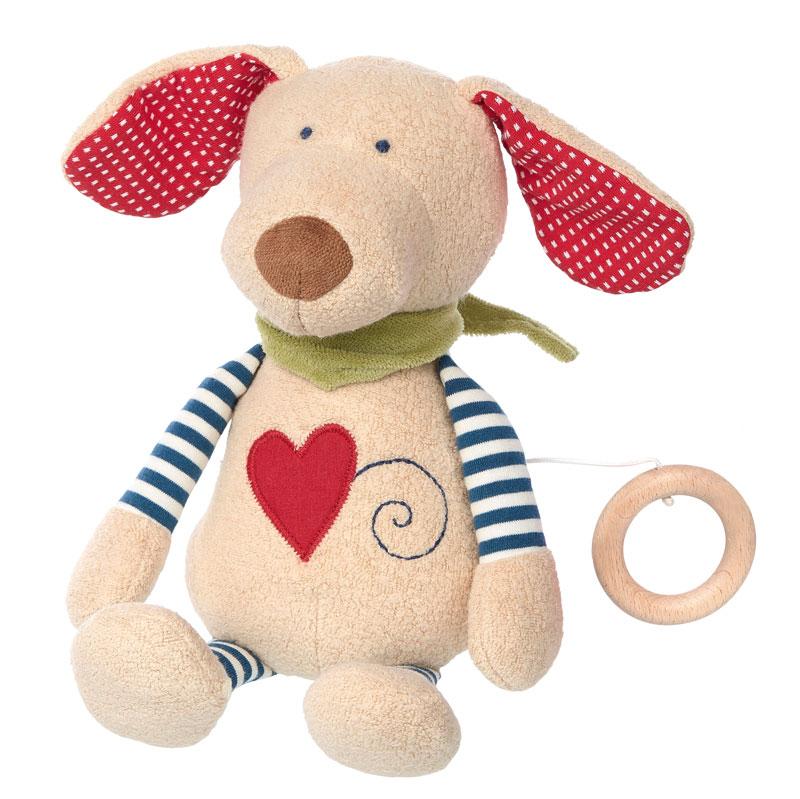 Artikelbild: Spieluhr herziger Hund, Sigikid Green